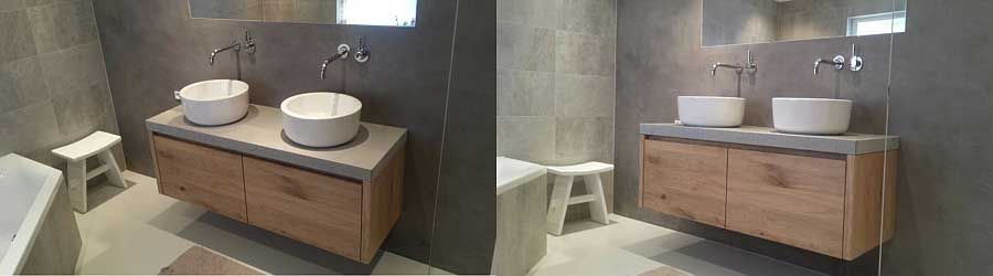 Verbouwing badkamer en sanitaire installatie